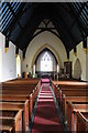 SN0717 : Interior of Llawhaden church by Philip Halling