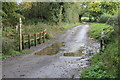 SK1832 : Foston Brook Ford by J.Hannan-Briggs