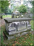 TQ3282 : Gravestone in Bunhill Fields by kim traynor