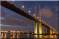 TQ5776 : QEII Bridge, London by Christine Matthews