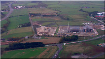NJ8711 : Building site at Aberdeen Airport from the air by Mike Pennington