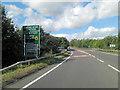 SJ3326 : A5 crosses the Montgomery Canal by Stuart Logan