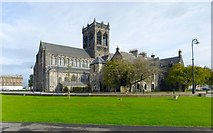 NS4863 : Paisley Abbey by Lairich Rig