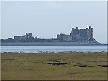 SD2363 : Piel Castle from Walney Island by Rob Farrow