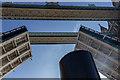 TQ3380 : PS Waverley Going Through Tower Bridge in The Thames by Christine Matthews