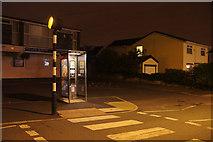 SJ3999 : Phone box, Waddicar Lane, Melling by Mike Pennington