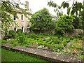 ST5874 : Knot garden, Redland Court by Derek Harper