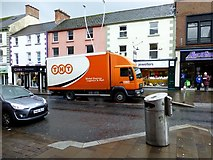 H4572 : TNT delivery lorry, Omagh by Kenneth  Allen
