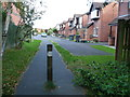 SD4562 : Houses on Roeburn Drive by Christine Johnstone