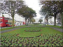 TQ2904 : Palmeira Square, Hove by Paul Gillett