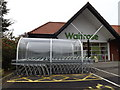TM3863 : Entrance to Waitrose Supermarket by Adrian Cable