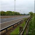 ST5788 : M48 motorway near Aust by Jaggery