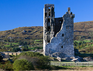 W1149 : Castles of Munster: Castledonovan, Cork - revisited (4) by Mike Searle