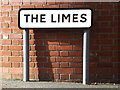 TM3863 : The Limes sign by Adrian Cable