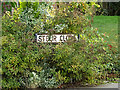 TM3863 : Stour Close sign by Adrian Cable