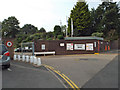 SP2865 : Entrance to office building car park, Coventry Road, Warwick by Robin Stott