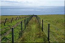 HY4147 : Path to the sea below Backarass Farm by Bill Boaden
