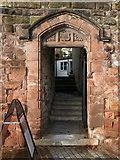 SJ4065 : Doorway to Edgar House by John S Turner