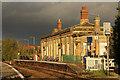 SK7954 : Castle Station by Richard Croft