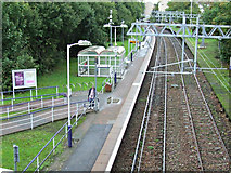 NS5362 : Corkerhill railway station by Thomas Nugent