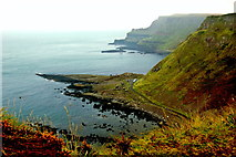 C9444 : Antrim Coast - Giant's Grand Causeway between Ports Ganny & Noffer by Joseph Mischyshyn