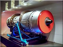 SJ8097 : Imperial War Museum North, Jet Engine by David Dixon
