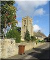 SE6176 : Parish church of the Holy Cross by Pauline E