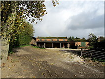 TR2657 : Outbuildings at Great Pedding Farm by Chris Heaton