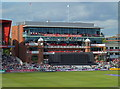 SJ8195 : Enlarged pavilion at Old Trafford by Anthony O'Neil