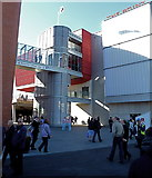 SJ8195 : Rear view of The Point at Old Trafford by Anthony O'Neil