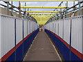 SK5638 : Wilford Bridge, pedestrian way by Alan Murray-Rust