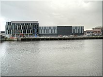 SJ8097 : New ITV Centre at Trafford Wharf by David Dixon