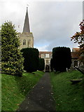 TR2457 : St. Mary the Virgin, Wingham by Chris Heaton