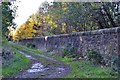 NT3268 : Boundary wall, Dalkeith Country Park by Jim Barton