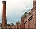 J3474 : The Sirocco chimney, Belfast (2) by Albert Bridge