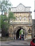 TG2308 : St Ethelbert's Gate by Rod Allday