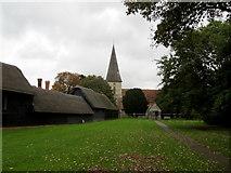 TR2258 : The Village Green at Ickham by Chris Heaton