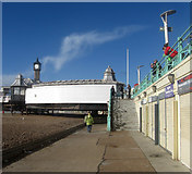 TQ3103 : Lower Esplanade by Simon Carey