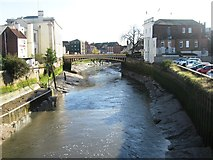 TF3244 : River Witham, Boston by Alex McGregor