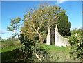 SP4711 : Yarnton Manor, West Gate by Des Blenkinsopp