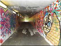 TM1244 : Subway under the A14 to Church Lane by Adrian Cable