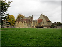 TR1557 : St. Augustine's Abbey by Chris Heaton