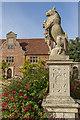 TG1728 : Statue, Blickling Hall, Norfolk by Christine Matthews