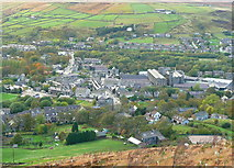 SE0511 : View of Marsden from the Colne Valley Circular Walk by Humphrey Bolton