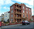 ST3160 : Balconied corner in Weston-super-Mare by Jaggery