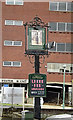 TM1444 : Earl Kitchener Public House sign by Adrian Cable