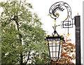 J4180 : Ornamental lamp, Cultra by Albert Bridge