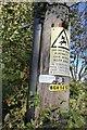 TF0130 : Labelled on the pole. by Bob Harvey