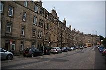 NT2273 : Roseburn Street by Bill Boaden