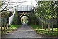 SP5402 : Priory Road railway bridge (17m 04ch THA) by Roger Templeman
